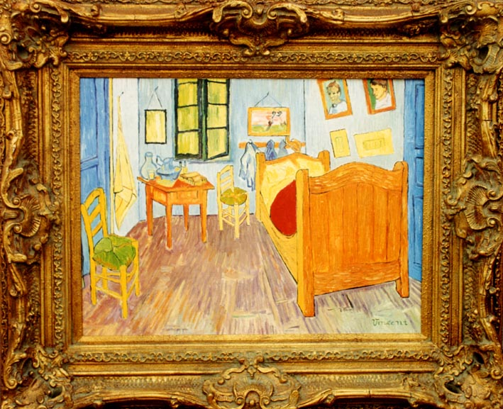 FALSI D\'ARTE Van Gogh-La camera da letto